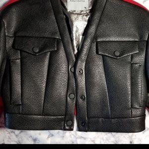 Jackets & Blazers - Kaal E Suktae leather bomber jacket